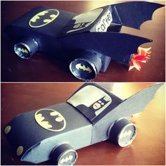 Batmobile Valentine's box!