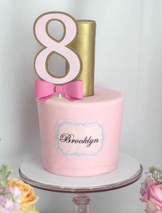 Nail Polish Birthday Cake from a Glam Spa Retreat Birthday Party on Kara's Party Ideas | KarasPartyIdeas.com (34)