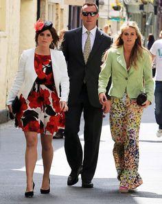 Princess Eugenie of York, Rupert Finch and Cressida Bonas.