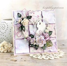 Agateria: Ślubny patchwork / Wedding Patchwork Card