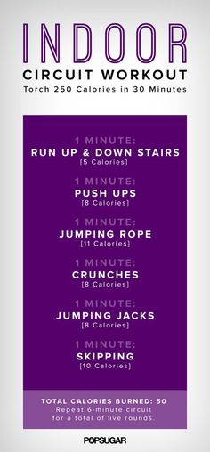 Burn Almost 300 Calories in the Comfort of Your Own Home!