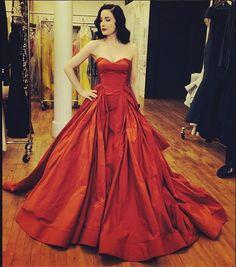Designer fashion | Dita Von Teese in Zac Posen | Just a pretty dress