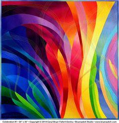 Celebration #1 by Carol Bryer Fallert-Gentry
