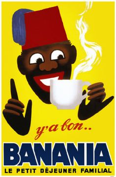 View this item and discover similar for sale at - Original vintage advertising poster for a popular chocolate drink found most widely distributed in France, made from cocoa, banana flour, cereals, honey