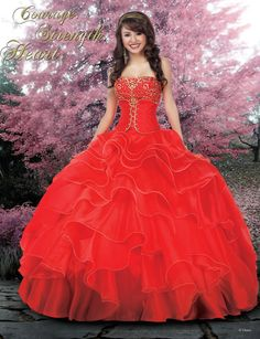 Disney Royal Ball Quinceanera Dress Mulan Style 41005 is made for Sweet 15 girls who want to look like a beautiful Princess on her special day with its lovely design. Designed by Impression Bridal, th