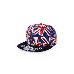 Unisex England UK Hip Hop Hat Britain Flag Visor Sunshade Baseball Cap ($3.94) ❤ liked on Polyvore featuring accessories, hats, black, adjustable hats, sun visor, black visor hat, sun visor cap and sun visor hat