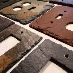 Repost Vermontslateplates Vermont Slate Crafted Into Light Switches And Outlet Covers
