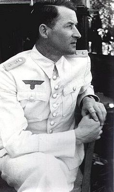 Wilhelm Adalbert Hosenfeld (2 May 1895 – 13 August 1952), originally a teacher, was a German Army officer who rose to the rank of Hauptmann by the end of the war. He helped to hide or rescue Jews in Nazi-occupied Poland, and is perhaps most remembered for helping Polish-Jewish pianist and composer Władysław Szpilman to survive, hidden, in the ruins of Warsaw during the last months of 1944.  In June 2009 he was posthumously recognized as a Righteous among the Nations by Yad Vashem.