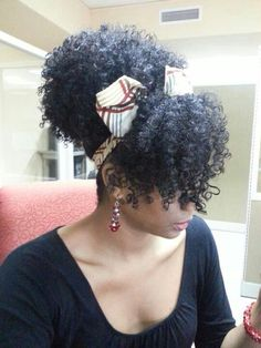 Visit NaturalHairSalonFinder.com to find a stylist for your natural hair.