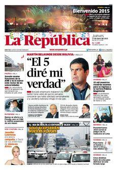 La República Lima 01-01-2015