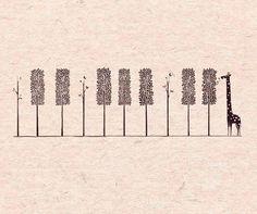 piano + trees