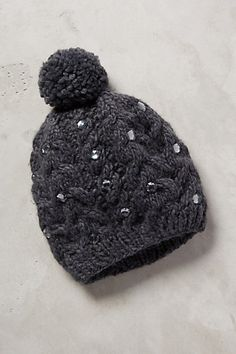 Jewel-Dappled Beanie #anthrofave