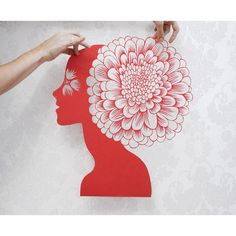 "paper cut artwork hand cut out paper original art ""Passion"" paper... ($145) ❤ liked on Polyvore featuring home, home decor, wall art, silhouette wall art and paper wall art"