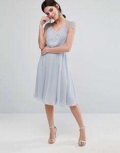 ASOS Petite   ASOS PETITE Kate Lace Midi Dress