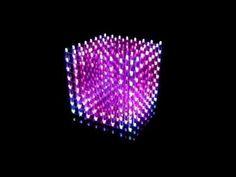 My Music Cube ( 3D RGB color LED Cube 8x8x8 )