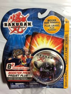 Bakugan Battle Brawlers B2 Bakupear + Bakuclear Series Booster Pack | eBay Bakugan Battle Brawlers, Best Kids Toys, Packing, Ebay, Funny Animals, Bag Packaging