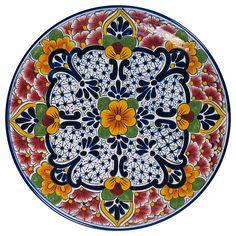"""Decorative Plate """"Ecatepec"""""""