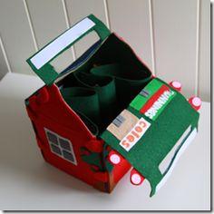 Felt Car Play Mat House!!!