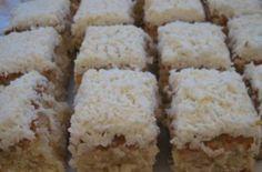 Αγαπημένο γλυκό, που θυμίζει … γιαγιά! Γίνεται πάρα πολύ εύκολα και έχει καταπληκτική γεύση. Υλικά: 6 αυγά 1,5 κούπα αλεύρι 1,5 κούπα ινδοκάρυδο 1,5 κούπα ζάχαρη 1,5 κούπα βούτυρο σε θερμοκρασία δωματίου 1 φακελάκι baking powder ή 3 κ. γ. 2 βανίλιες λίγη καρύδα επιπλέον για το στόλισμα Για το σιρόπι 2,5 κούπες ζάχαρη 3 …