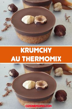 Krumchy au Thermomix - The Best Canned Recipes Pureed Food Recipes, Dessert Recipes, Cooking Recipes, Yule Log Cake, Thermomix Desserts, Book Cakes, French Desserts, Chocolate Decorations, Cake Shop