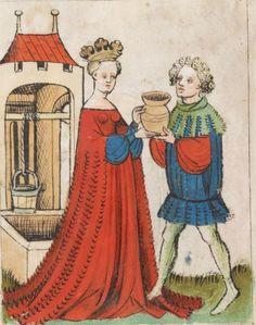 Speculum Humanae Salvationis 1427 Cod. membr. 8 Folio 10r