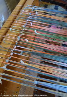 When I got to the end of the warp for my curved lines fabric, I was curious to know the difference in the take-up between my sprang warp . Loom Weaving, Tapestry Weaving, Ancient Artefacts, Drum Pad, Textiles, Curved Lines, Weaving Techniques, Rug Hooking, Deco