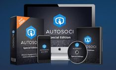 AutoSoci PRO Automatic Traffic Generating Software - Powerful Developer Traffic Generating System Software That Gives You the Power to Leverage Social Media, Grabs Your Visitor's Attention, Engages & Converts Visitors into Buyers Automatically to Increase Traffics, Leads and Sales