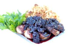 Gluten Free Duck Breast with Cherry Balsamic Sauce & Dried Cherry Rice Pilaf Recipe | Simply Gluten Free