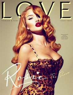 Rosie Looks like a Pin up Girl