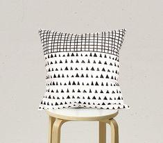 Decorative Pillow cover Geometric Pillowcase Kids by gridastudio