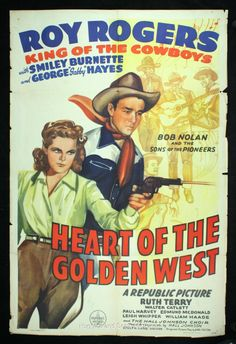 1945 western movie poster | 1942-49 Western Movie One Sheet Posters with Roy Rogers