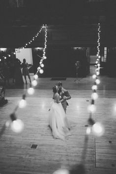 DIY Wedding // Audry + Kyle dancing...