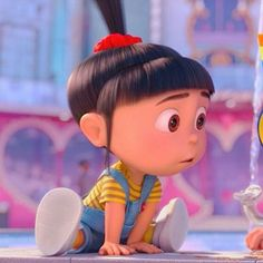 The cutest little child ever created by Disney Cute Cartoon Pictures, Cute Cartoon Girl, Cartoon Pics, Disney Icons, Disney Pixar, Funny Disney, Movie Wallpapers, Cute Cartoon Wallpapers, Agnes Despicable Me