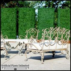 Custom Artificial Boxwood Hedges | Artificial Plants Unlimited