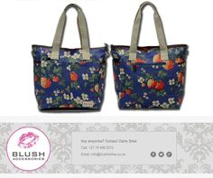Need a new handbag? Then get yourself down to your nearest store for a gorgeous shoulder bag. Available in a variety of colours and prints. New Handbags, Hand Bags, Diaper Bag, Africa, Blush, Colours, Shoulder Bag, Tote Bag, Store