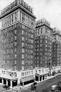 """Skirvin Hotel Location:1 Park Avenue, Oklahoma City.First opened in 1911. Owner, W. B. Skirvin had an affair with a maid named """"Effie"""", which led to a pregnancy. Rumors of a haunting in the hotel persist, and have even been cited by NBA teams, notably in 2010 when the New York Knicks famously blamed their loss to the Oklahoma City Thunder on the haunting and when the Chicago Bulls reported doors slamming shut on their own and strange sounds outside their rooms.Closing date:1988 for…"""