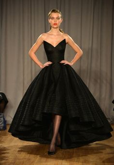 Zac Posen Fall 2014 | Zac Posen's NYFW Fall 2014 Show Was Just. Gorgeous. | Bustle