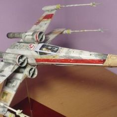 Download Star Wars X-Wing Fighter Paper model