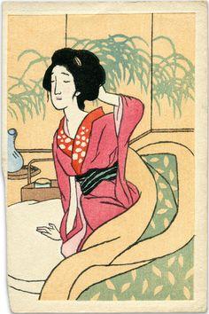 Takehisa Yumeji 竹久夢二 (1884-1934)