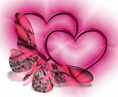 Love Pink Heart Butterfly Twin Flame is easy to find Mario Cart, Te Amo Love, Hug Images, Heart Graphics, Photos For Facebook, Pink Butterfly, Butterfly Quotes, Love You, My Love