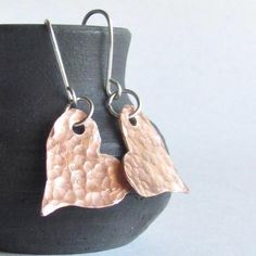 Only a few more left in stock! Copper Hammered Heart Earrings Shop now:   http://heartsabustin.myshopify.com/products/copper-hammered-heart-earrings-copper-heart-jewelry?utm_campaign=crowdfire&utm_content=crowdfire&utm_medium=social&utm_source=pinterest