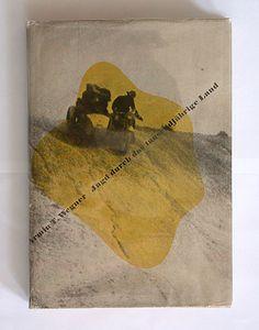 Armin T. Wegner:  Jagd durch das tausendjährige land. Büchergilde Gutenberg, Berlin, 1932. Printer: Buchdruckwerkstätte Gmbh, Berlin. Size: 24 x 17 cm. Designer: Herbert Bayer.