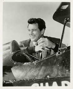 """Rock Hudson was not nominated for """"The Tarnished Angels""""."""