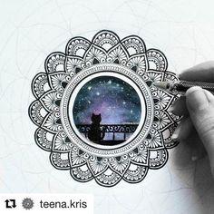 #Repost @teena.kris ・・・ #mandala_sharing