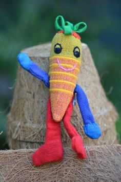 Soft toy vegetable c