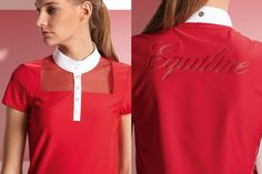 Equiline Ester show shirt. Check it our in our Spring 2014 issue of The Chronicle of the Horse Untacked: http://read.uberflip.com/i/258586