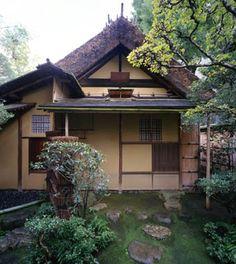 [Omote senke] tea room: Sodo.  [表千家不審菴]祖堂:祖堂 外観