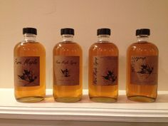 Maple Syrup * Labels * Boston Rounds