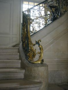 Private staircase leading up to the King's apartments, Versailles