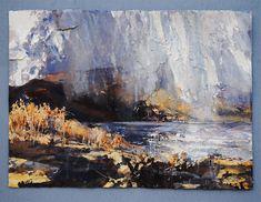 Risultati immagini per David Tress Landscape Drawings, Abstract Landscape, Landscape Paintings, Abstract Art, Landscapes, Love Painting, Figure Painting, Artist Sketchbook, A Level Art